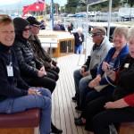Rotarianer på seglats